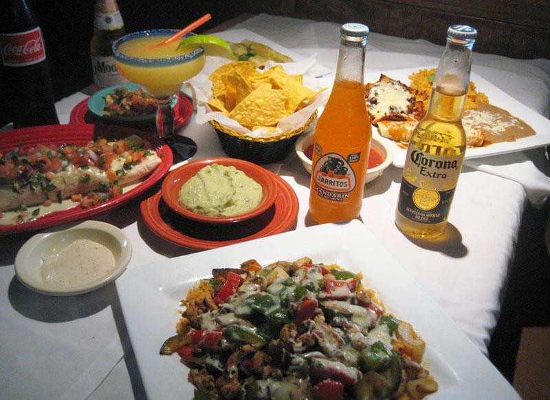 Nachos - Burrito - Enchilada - Dinner