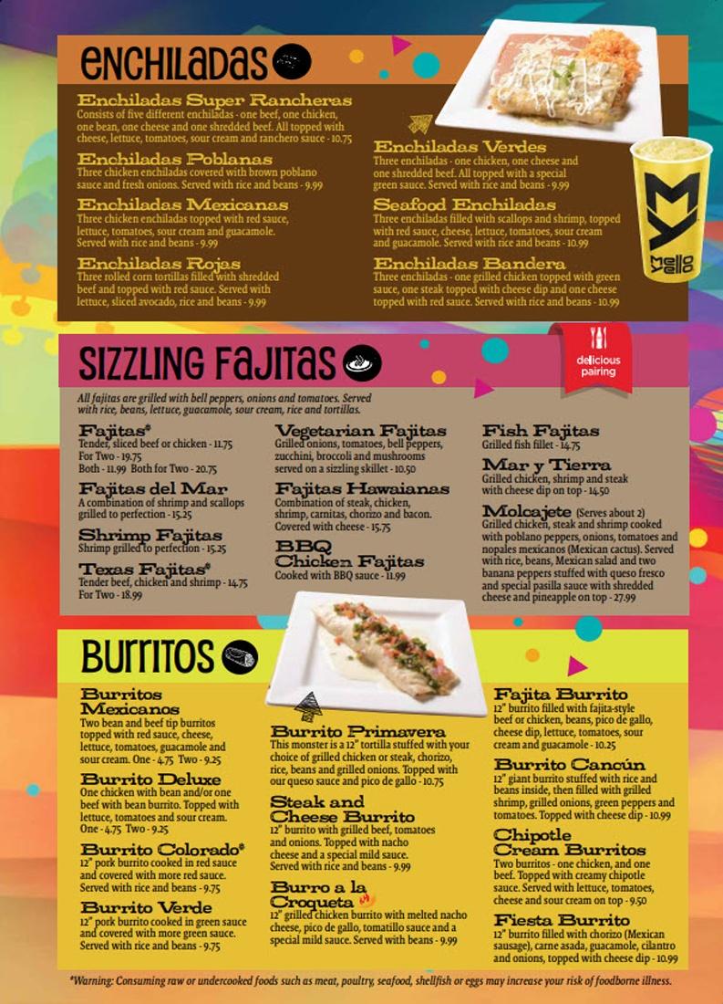 Enchiladas Fajita Burritos